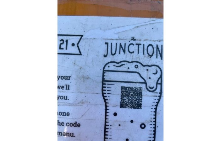 Most of the restaurants are now asking guests to use QR code instead of a printed menu to order food and drinks.