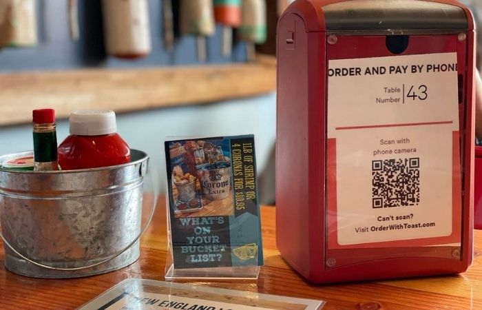 Print menu and getting the bill after the meal have been replaced with the do it yourself process at a lot of restaurants.