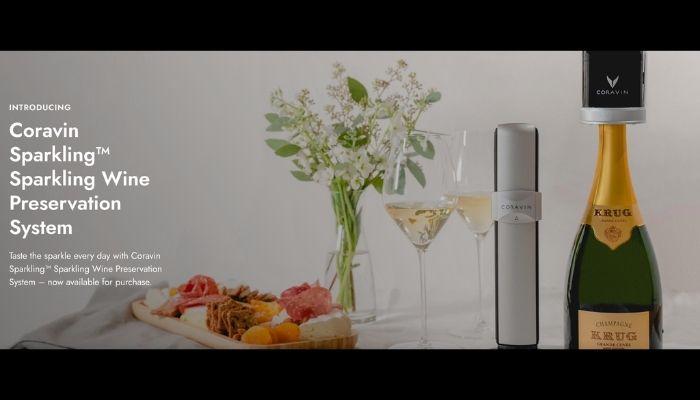 Coravin Sparkling Wine