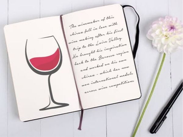 Wine is a story in itself
