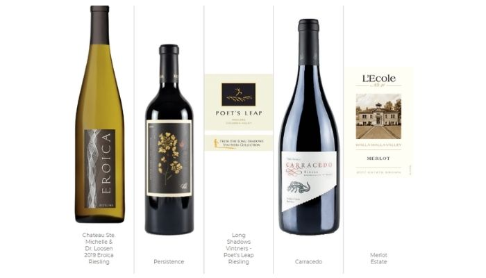 Top 5 on premise wines