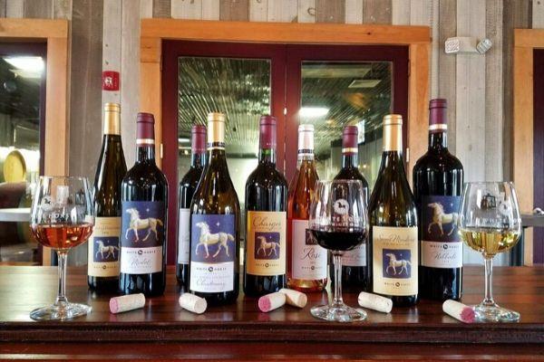 White Horse Winery Wines